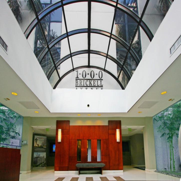 1000 Brickell lobby
