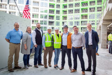 Star Metals Residences in West Midtown Atlanta Tops Off